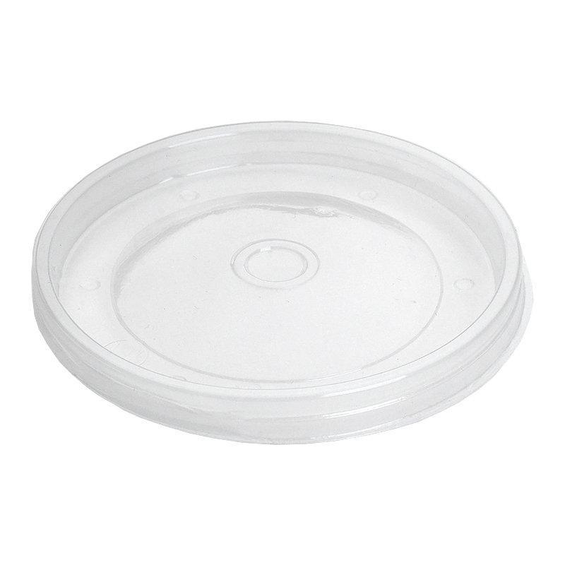 Крышка для чашки d-121мм под суп 500 мл, прозрачная ПП, 500 шт