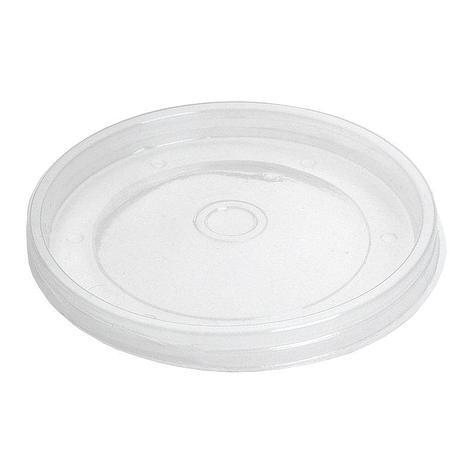 Крышка для чашки d-121мм под суп 500 мл, прозрачная ПП, 500 шт, фото 2