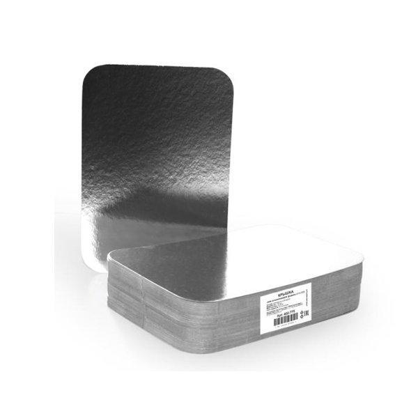 Крышка к алюминиевой форме 213x150мм, картон/алюминий, 600 шт