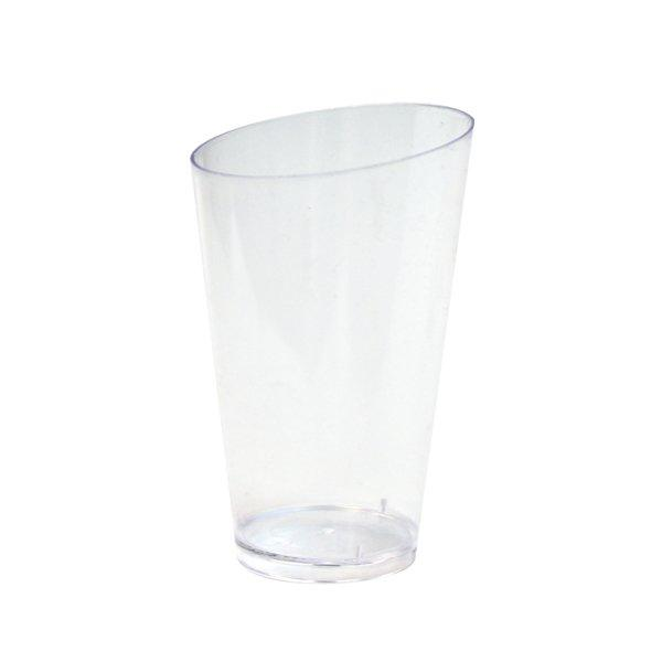 Форма д/фуршетов, 75мл, d 50мм,, Medium Conical, прозрачн., ПС, 25 шт