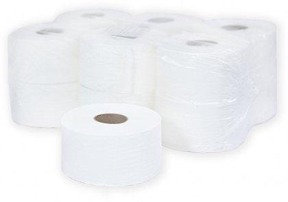 Бумага туалетная 2 сл., 160м, бел., Бумага