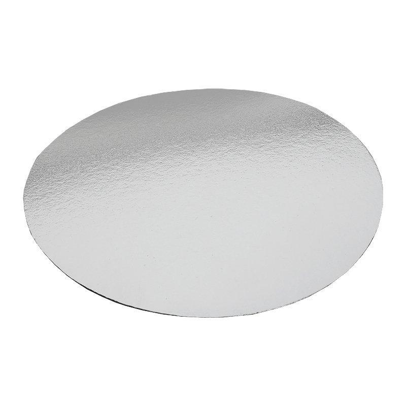 Крышка к алюминиевой форме d=181мм, картон/алюминий, 600 шт