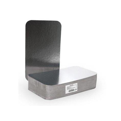 Крышка к алюминиевой форме 213x122мм, картон/алюминий, 600 шт, фото 2