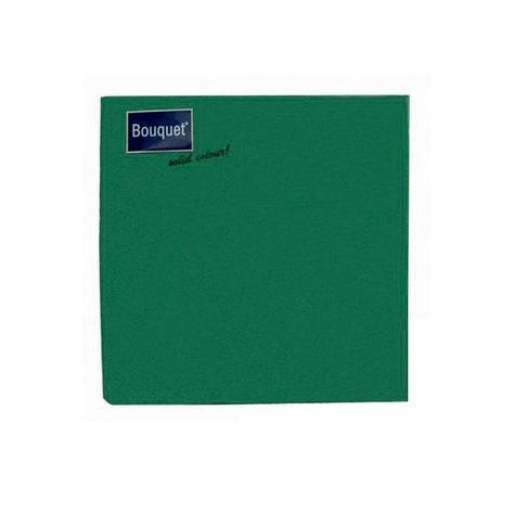 Салфетки 33х33см, 3 сл., зелён., Бумага, 20 шт, фото 2