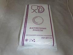 Пакет фасов. ПНД 25х40см  (евроуп.), 10мкм, 1000 шт