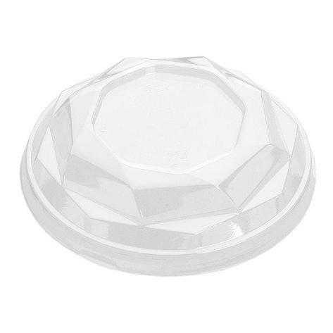 Крышка для креманки, кругл., d 110мм, прозрачн., ОПС, 1000 шт, фото 2