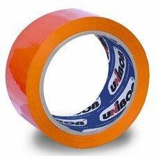 """Клейкая лента 48мм*66м """"UNIBOB 600"""" (оранжевая)"""