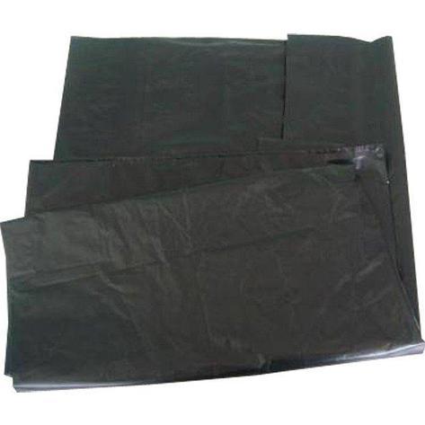 Мешок д/мусора 180л (70+20)х110см 55мкм черный ПВД 25шт/уп, 25 шт, фото 2