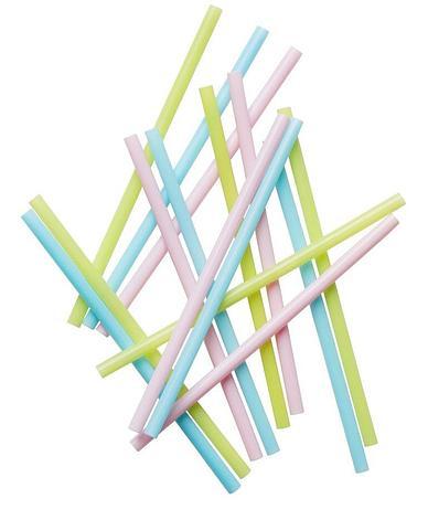 Трубочки д/коктейля прямые , h200мм , пластик, 50 шт, фото 2