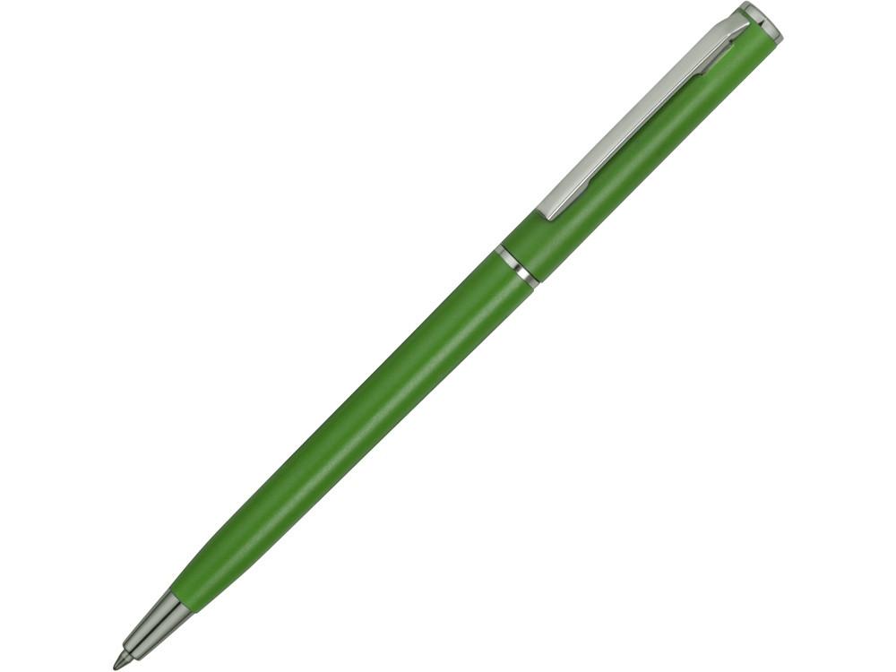 Ручка шариковая Наварра, зеленое яблоко