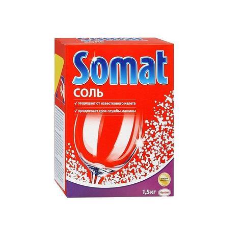 Соль для ПММ Somat, 1.5 кг, фото 2