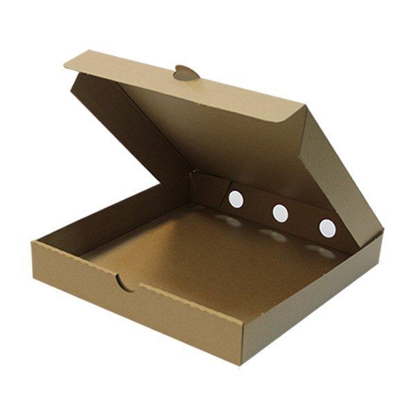 """Упаковка для пиццы ECO PIZZA 400""""Pure Kraft"""" , 50 шт"""