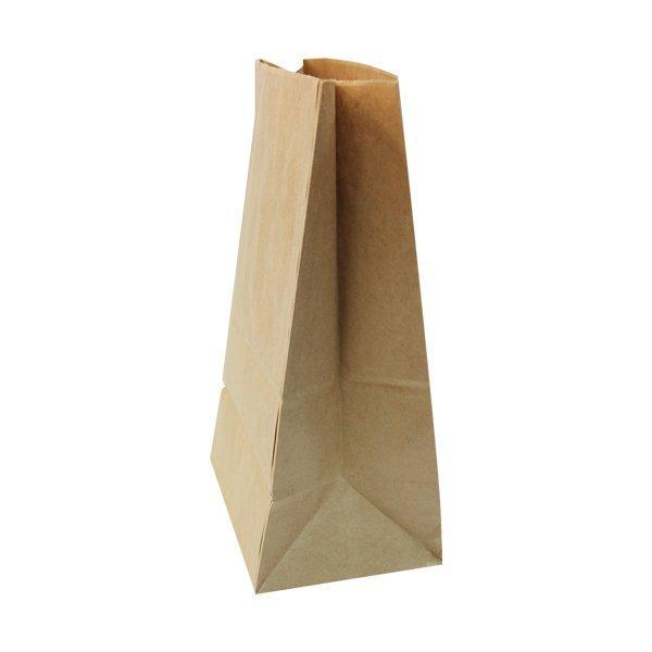 Пакеты на вынос (180+120)х290мм коричн.,70г/м2, крафт бум. б/ручек , 600 шт