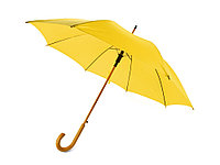 Зонт-трость Радуга, желтый, фото 1