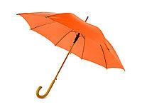 Зонт-трость Радуга, оранжевый, фото 1