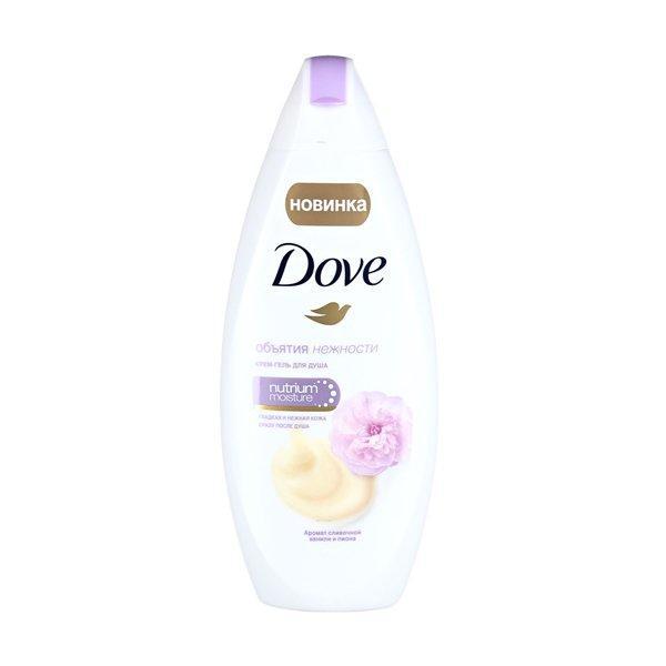 Гель д/душа Dove ваниль и пион 250мл