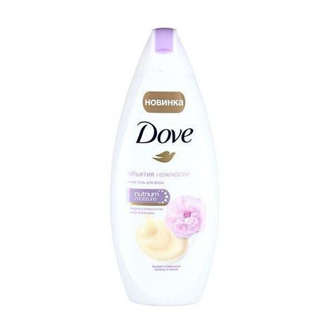 Гель д/душа Dove ваниль и пион 250мл, фото 2