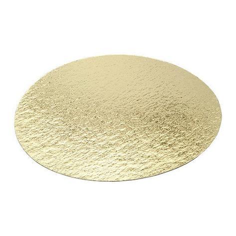 Подложка усиленная золото/жемчуг D 300 мм ( Толщина 3,2 мм ) (10 шт/упак), фото 2