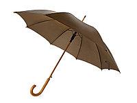 Зонт-трость Радуга, коричневый, фото 1