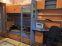 Мебель для детской комнаты кровать двухъярустная+ компьютерный стол