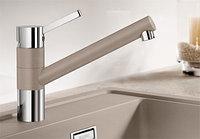 Смеситель кухонный Blanco Tivo - шампань/хром (517605)
