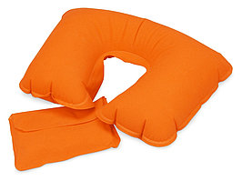 Подушка надувная базовая, оранжевый (артикул 839413)