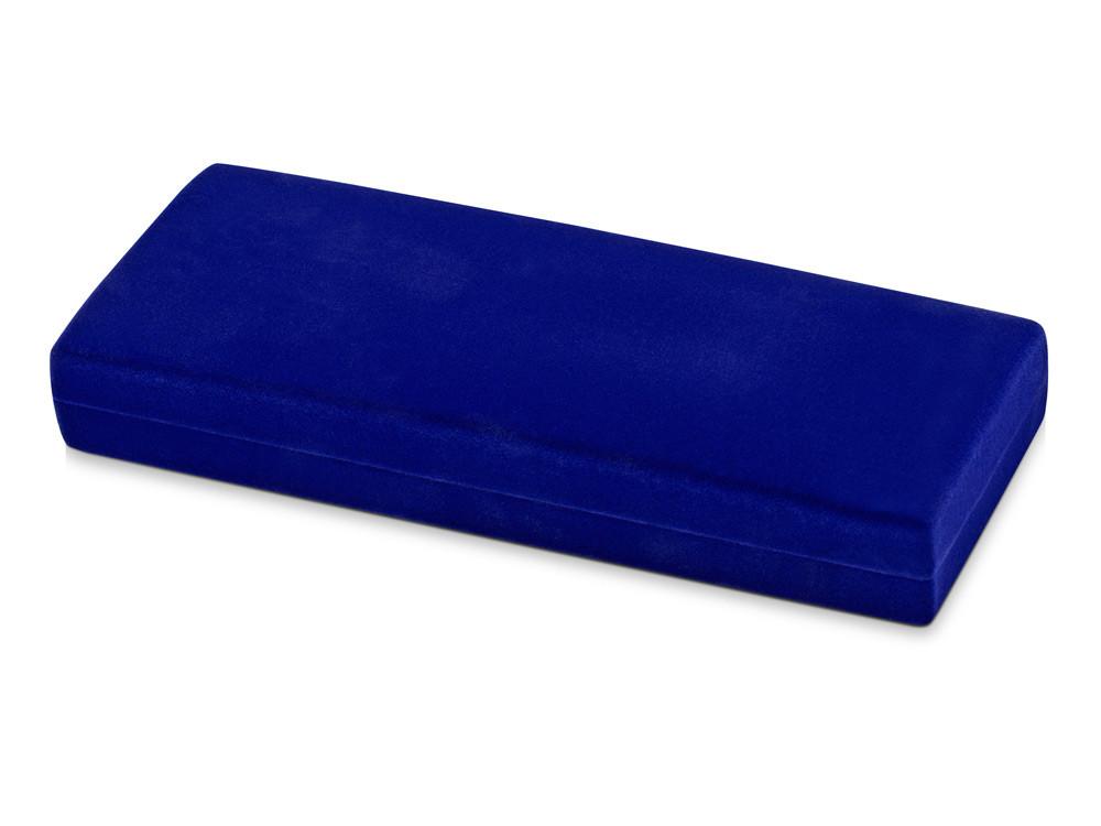 Бархатный футляр для ручки Элегия, синий