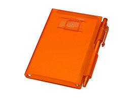 Записная книжка Альманах с ручкой, оранжевый (артикул 789518)
