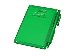 Записная книжка Альманах с ручкой, зеленый (артикул 789523)