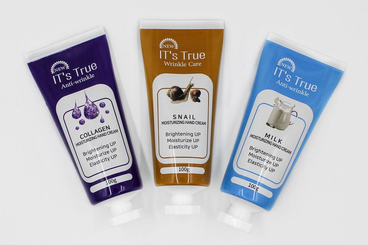 Крем для рук IT'S True Snail Hand Moistrizing Cream 100g