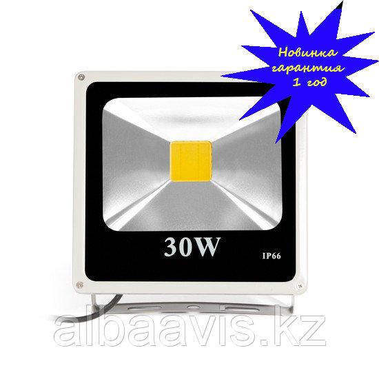 Светодиодный прожектор, сафит 30 W