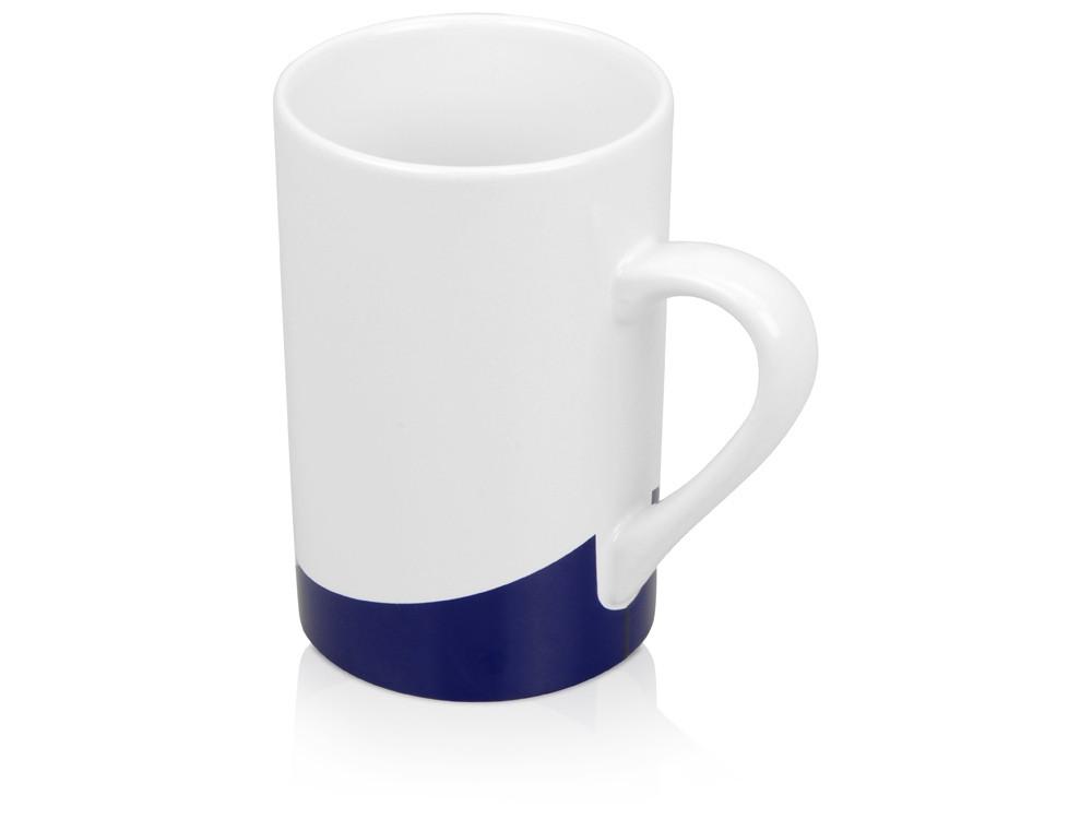 Кружка Мерсер 320мл, белый/синий