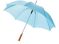 Зонт-трость Lisa полуавтомат 23, голубой, фото 1