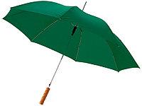 Зонт-трость Lisa полуавтомат 23, зеленый, фото 1
