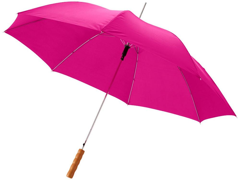 Зонт-трость Lisa полуавтомат 23, фуксия