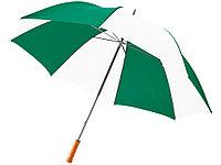 Зонт Karl 30 механический, зеленый/белый, фото 1
