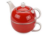Набор Эгоист: чайник на 200 мл, чашка на 220 мл в подарочной упаковке, фото 1