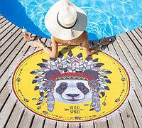 """Полотенце пляжное """"Wild spirit"""" (120 х 120 см, микрофибра), фото 1"""