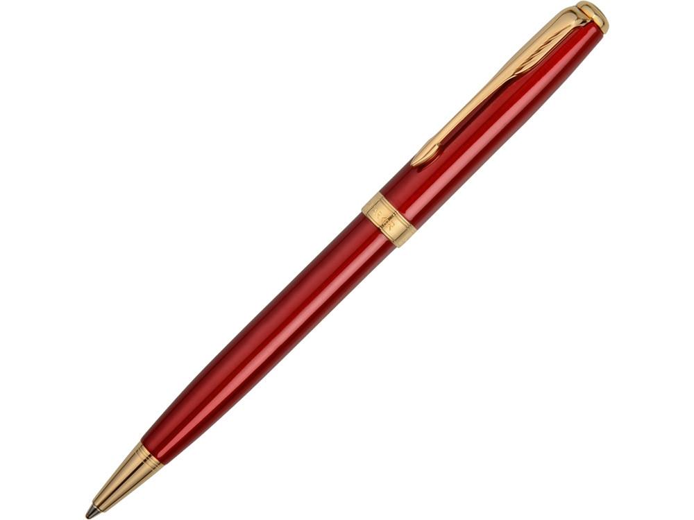 Ручка шариковая Parker модель SON13 RED GT BP F.BLK GB, красный/золотистый
