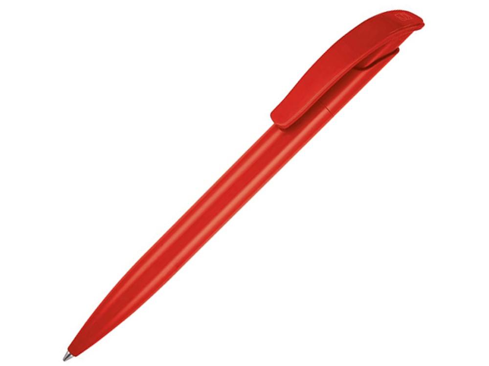 Ручка шариковая Senator модель Challenger Polished, красный
