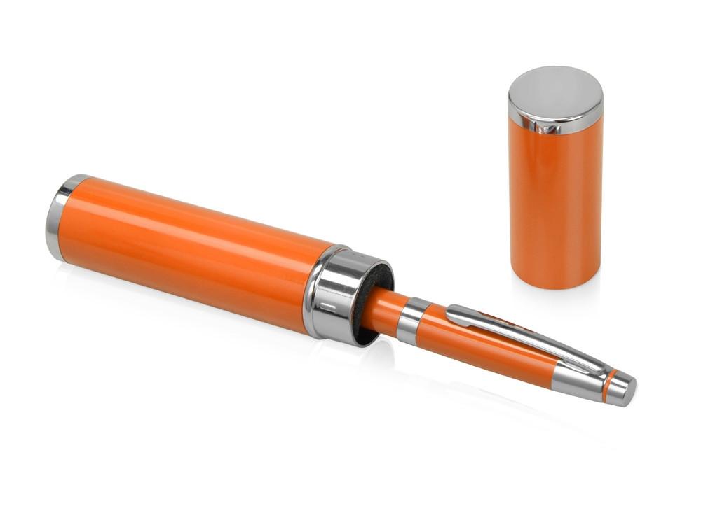 Ручка шариковая Ковентри в футляре оранжевая