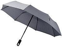 Зонт Traveler автоматический 21,5, серый, фото 1