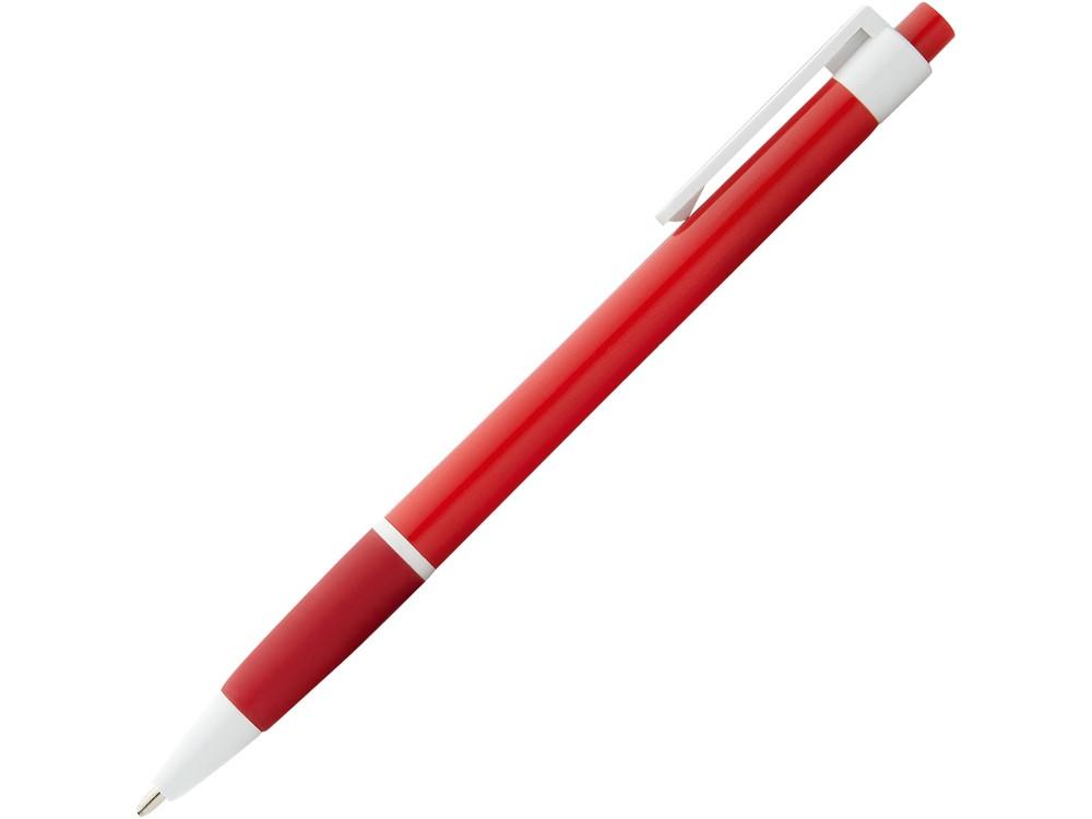 Ручка шариковая Malibu, красный, черные чернила