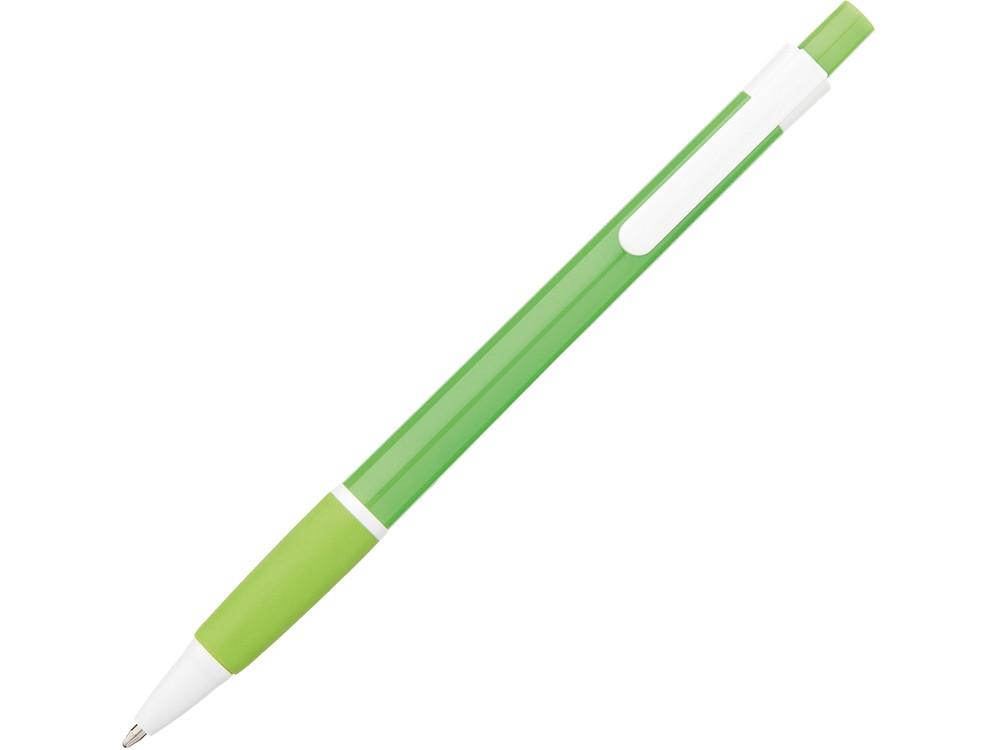 Ручка шариковая Malibu, зеленый, черные чернила