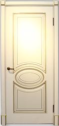 Дверь Верона 4 Слоновая кость