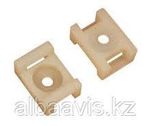 Крепежные пластиковые площадки, пластиковые крепления для кабеля 100 шт.