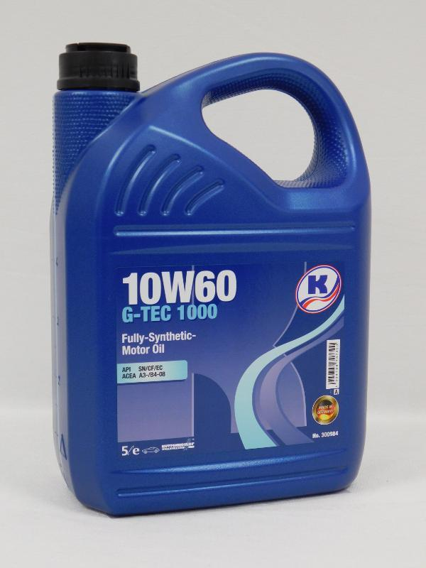 Моторное масло 10W-60 G-TEC 1000 Kuttenkeuler 5L