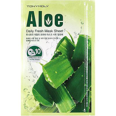 Маска для лица с экстрактом алоэ/ Tony Moly Aloe Daily Fresh Mask Sheet