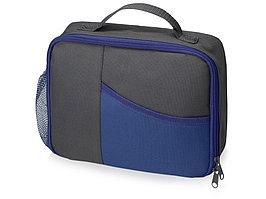 Изотермическая сумка-холодильник Breeze для ланч-бокса, серый/синий (артикул 935962)