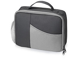 Изотермическая сумка-холодильник Breeze для ланч-бокса, серый/серый (артикул 935951)